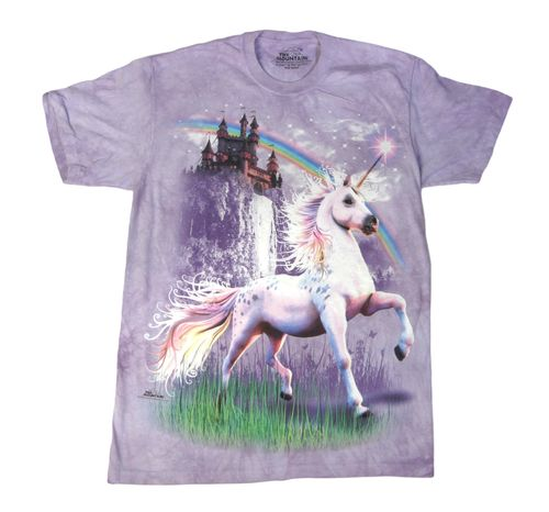 Unicorn-castle-tshirt-front-hr